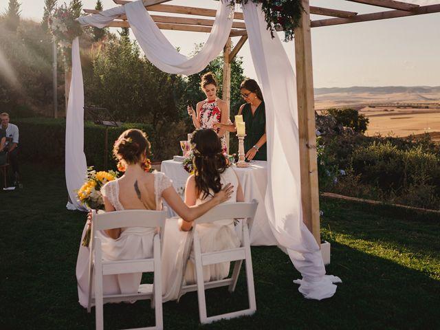 La boda de Capucine y Celia en Caracuel De Calatrava, Ciudad Real 48