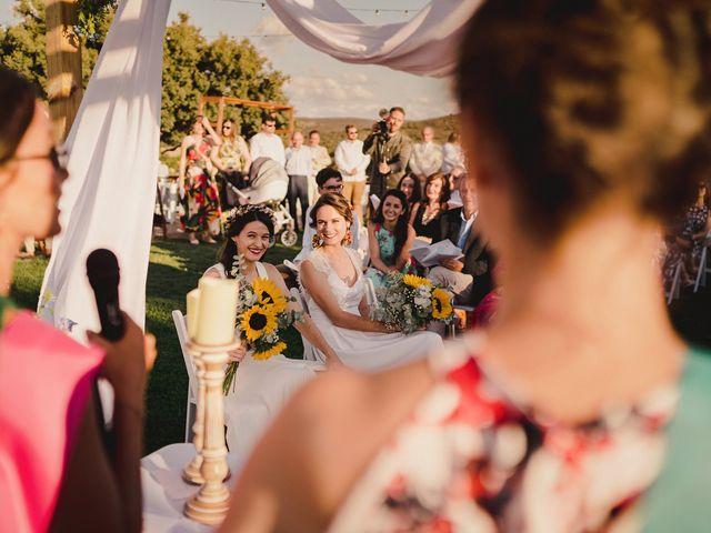 La boda de Capucine y Celia en Caracuel De Calatrava, Ciudad Real 50