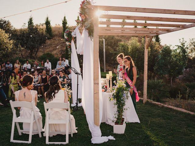 La boda de Capucine y Celia en Caracuel De Calatrava, Ciudad Real 51