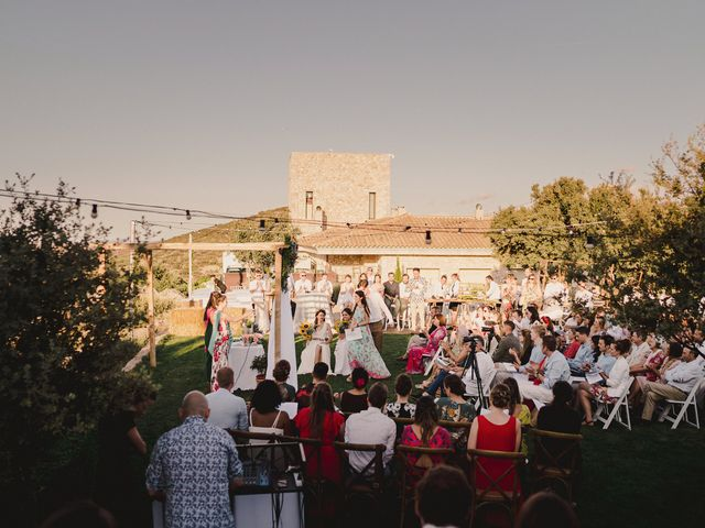 La boda de Capucine y Celia en Caracuel De Calatrava, Ciudad Real 52