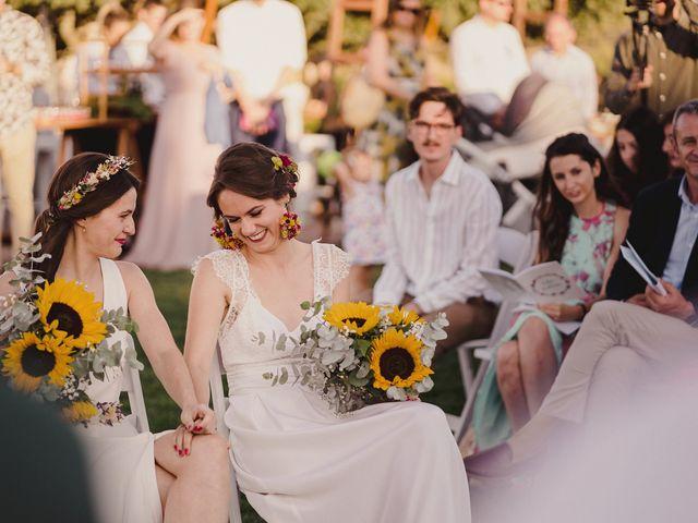 La boda de Capucine y Celia en Caracuel De Calatrava, Ciudad Real 55