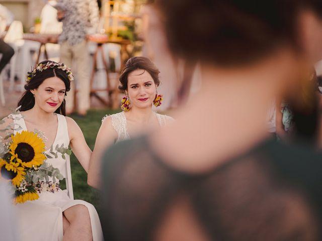 La boda de Capucine y Celia en Caracuel De Calatrava, Ciudad Real 57