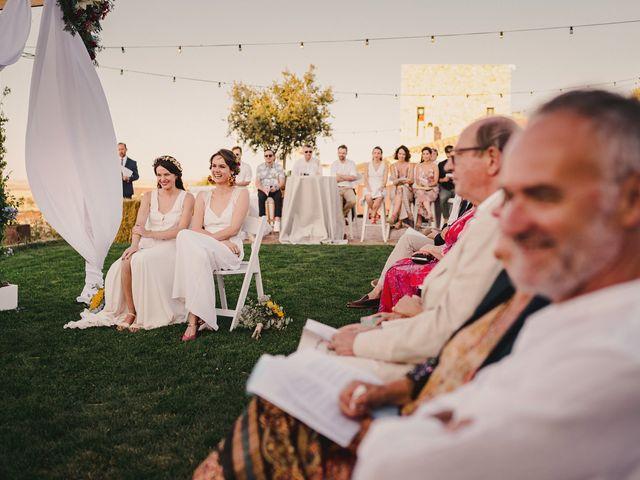 La boda de Capucine y Celia en Caracuel De Calatrava, Ciudad Real 60