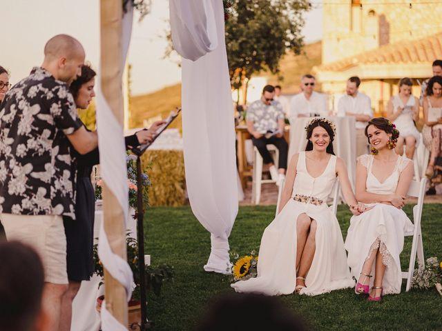 La boda de Capucine y Celia en Caracuel De Calatrava, Ciudad Real 63