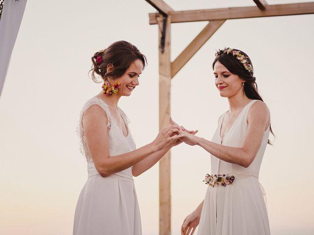 La boda de Capucine y Celia en Caracuel De Calatrava, Ciudad Real 72