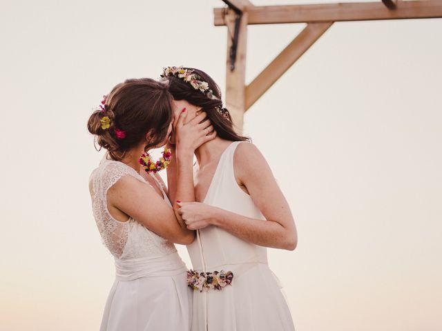 La boda de Capucine y Celia en Caracuel De Calatrava, Ciudad Real 73