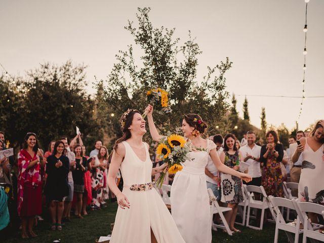 La boda de Celia y Capucine