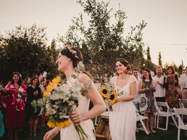 La boda de Capucine y Celia en Caracuel De Calatrava, Ciudad Real 77