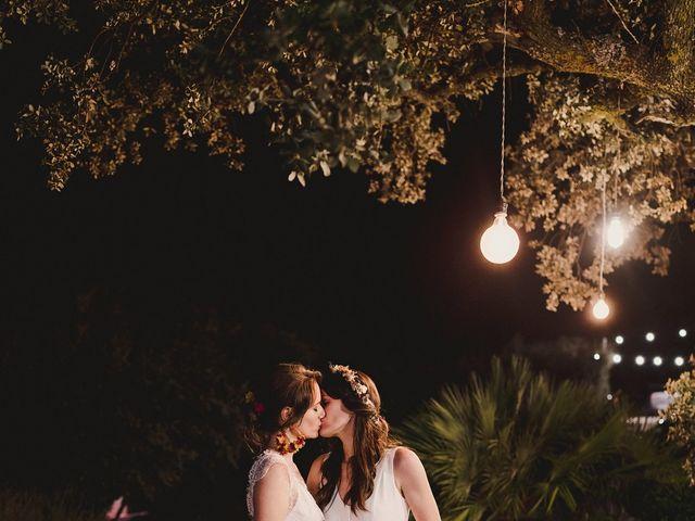 La boda de Capucine y Celia en Caracuel De Calatrava, Ciudad Real 102