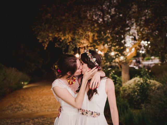 La boda de Capucine y Celia en Caracuel De Calatrava, Ciudad Real 103