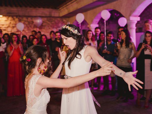 La boda de Capucine y Celia en Caracuel De Calatrava, Ciudad Real 105