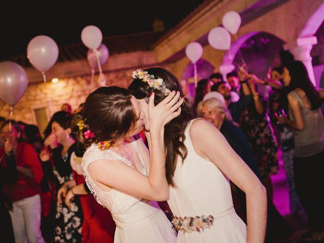 La boda de Capucine y Celia en Caracuel De Calatrava, Ciudad Real 107
