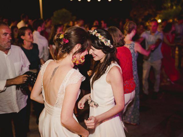La boda de Capucine y Celia en Caracuel De Calatrava, Ciudad Real 111