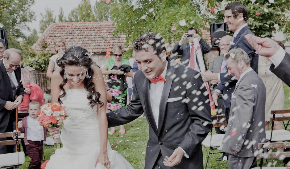 La boda de Jose y Vanessa en Hoyuelos, Segovia