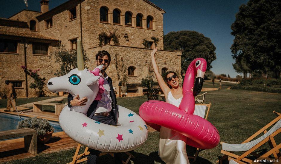 La boda de Tommy y Agelica en Pontos, Girona