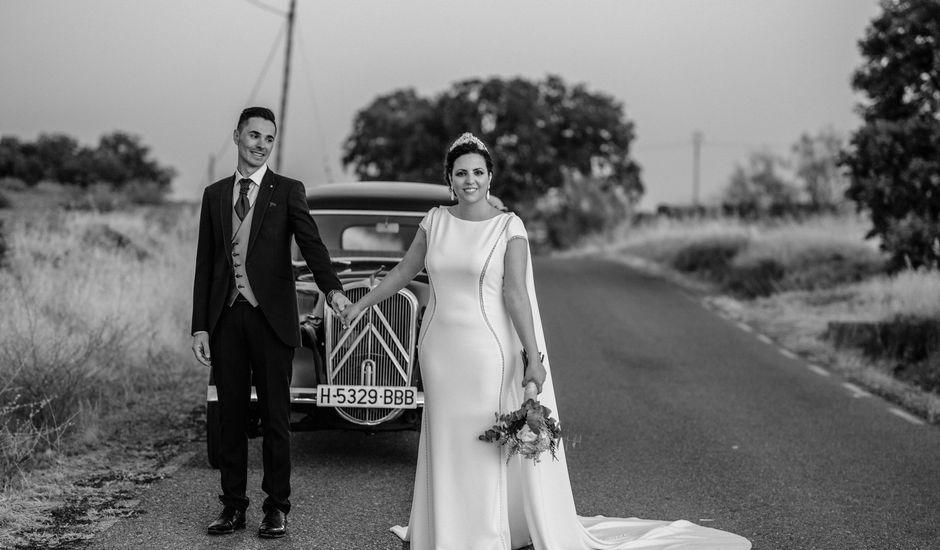 La boda de David y Ruth en Zalamea De La Serena, Badajoz