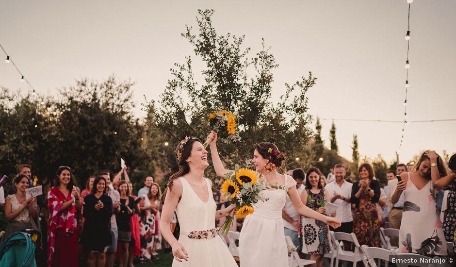 La boda de Capucine y Celia en Caracuel De Calatrava, Ciudad Real