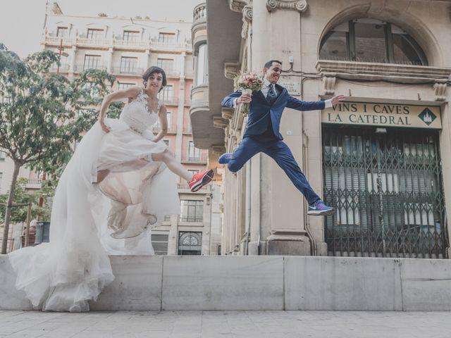 La boda de Paqui y Enric