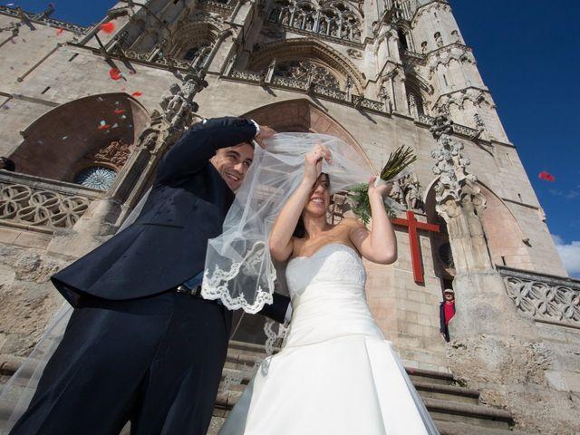 La boda de David y Silvia en Burgos, Burgos 19