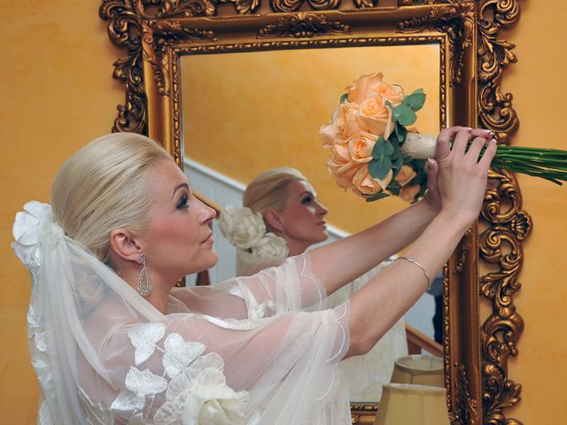 La boda de Ventura y Ana María en Orellana La Vieja, Badajoz 12