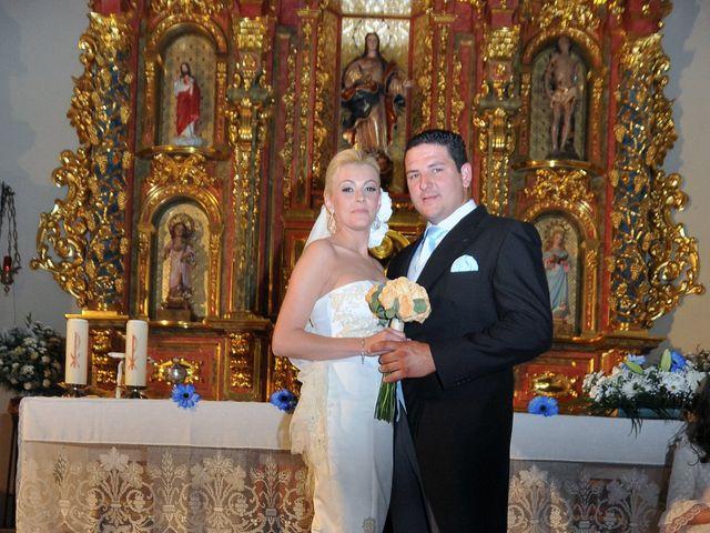 La boda de Ventura y Ana María en Orellana La Vieja, Badajoz 15