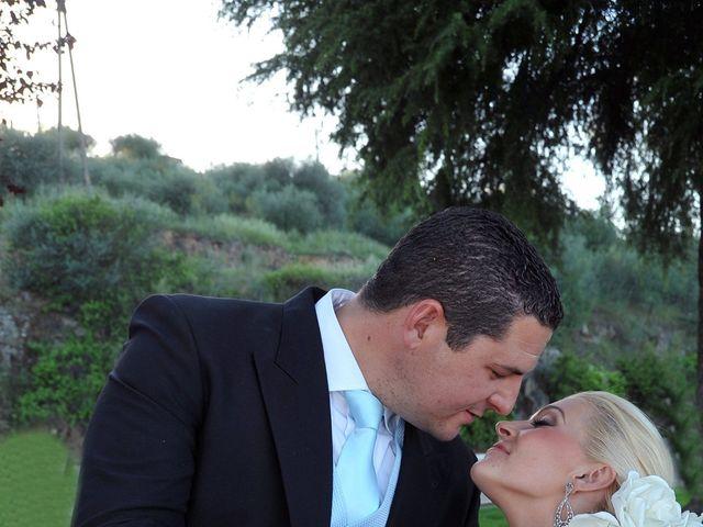 La boda de Ventura y Ana María en Orellana La Vieja, Badajoz 17