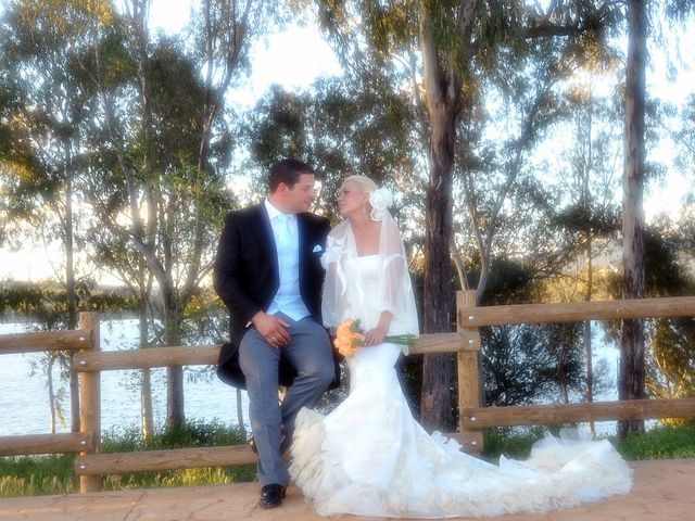 La boda de Ventura y Ana María en Orellana La Vieja, Badajoz 21