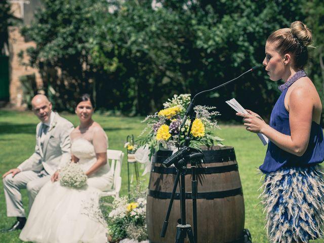 La boda de Jose y Maria en Odena, Barcelona 20