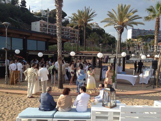 La boda de Micky y Marco en Canet De Mar, Barcelona 4