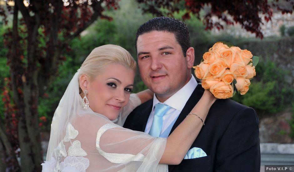 La boda de Ventura y Ana María en Orellana La Vieja, Badajoz