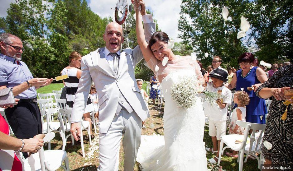 La boda de Jose y Maria en Odena, Barcelona