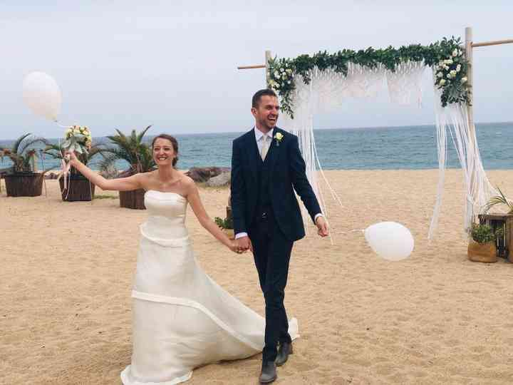 La boda de Alberto y Marta