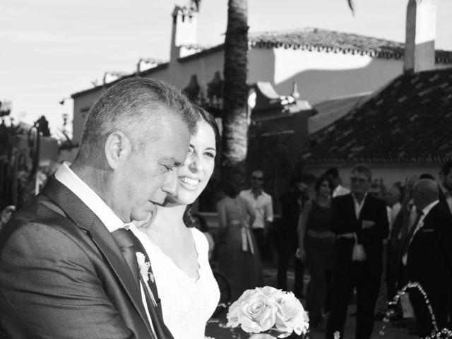 La boda de Ismael y María Victoria en Benahavis, Málaga 1