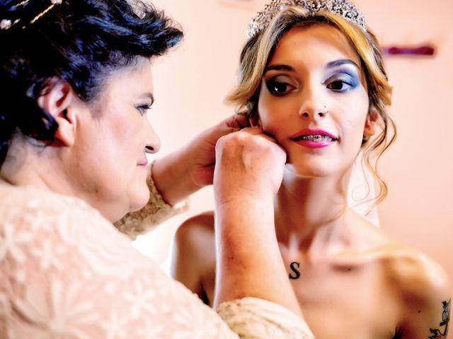 La boda de Soraya y Santi en Villafranca De Los Barros, Badajoz 18