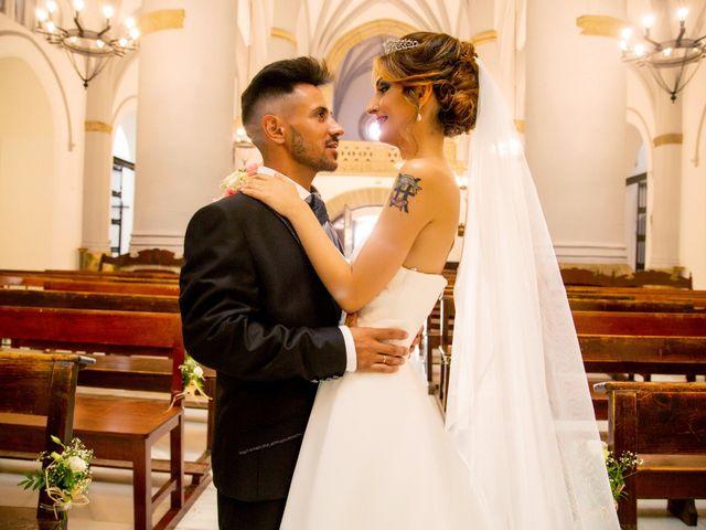La boda de Soraya y Santi en Villafranca De Los Barros, Badajoz 33