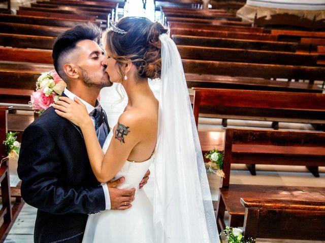 La boda de Soraya y Santi en Villafranca De Los Barros, Badajoz 34