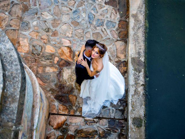La boda de Soraya y Santi en Villafranca De Los Barros, Badajoz 39