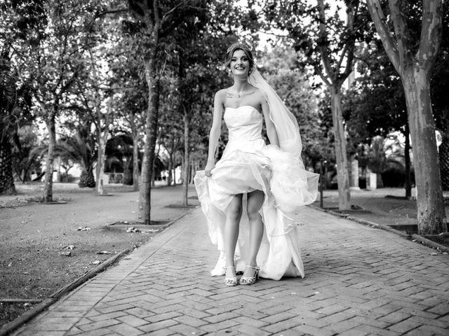 La boda de Soraya y Santi en Villafranca De Los Barros, Badajoz 40