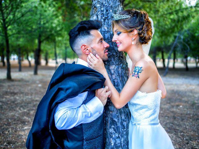 La boda de Soraya y Santi en Villafranca De Los Barros, Badajoz 42
