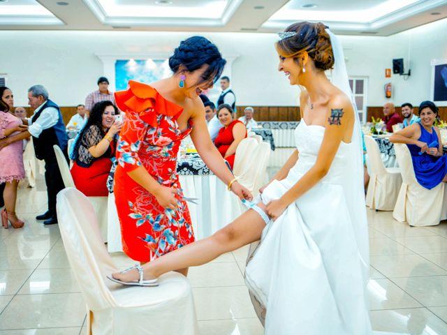 La boda de Soraya y Santi en Villafranca De Los Barros, Badajoz 49