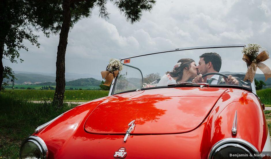 La boda de Luis y Anna en Oliana, Lleida