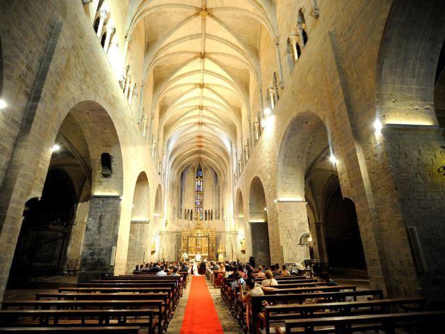 La boda de Dani y Eva en Girona, Girona 32