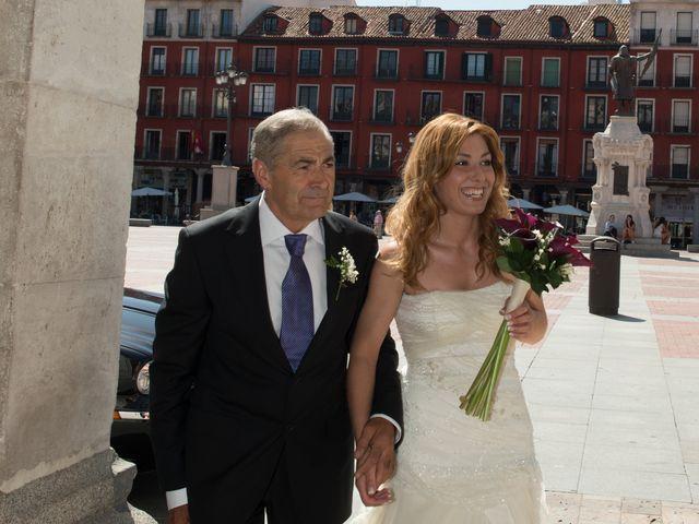 La boda de Ruben y Cristina en Quintanilla De Onesimo, Valladolid 2