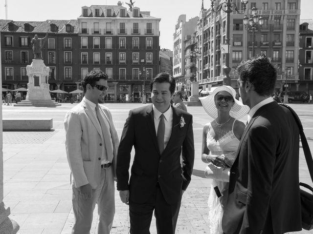 La boda de Ruben y Cristina en Quintanilla De Onesimo, Valladolid 10