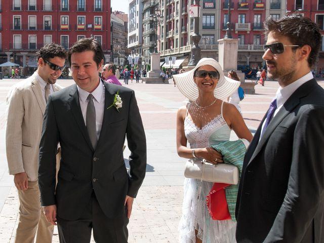 La boda de Ruben y Cristina en Quintanilla De Onesimo, Valladolid 11