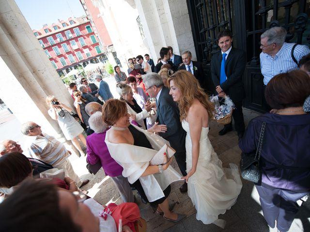 La boda de Ruben y Cristina en Quintanilla De Onesimo, Valladolid 15