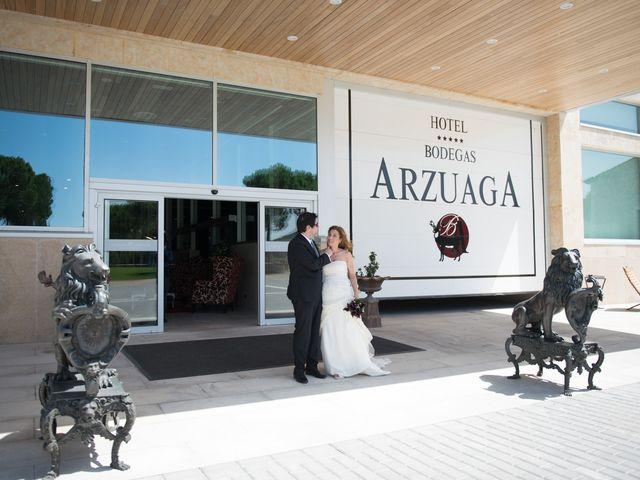 La boda de Ruben y Cristina en Quintanilla De Onesimo, Valladolid 120