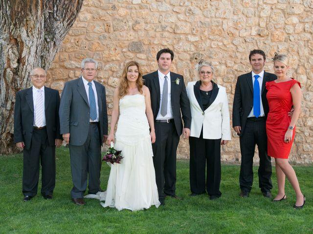 La boda de Ruben y Cristina en Quintanilla De Onesimo, Valladolid 182