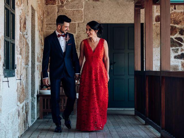 La boda de David y Natalia en Ourense, Orense 31