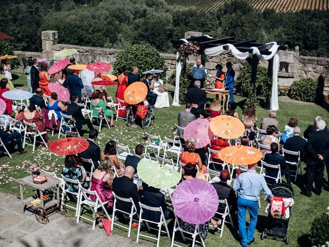 La boda de David y Natalia en Ourense, Orense 36